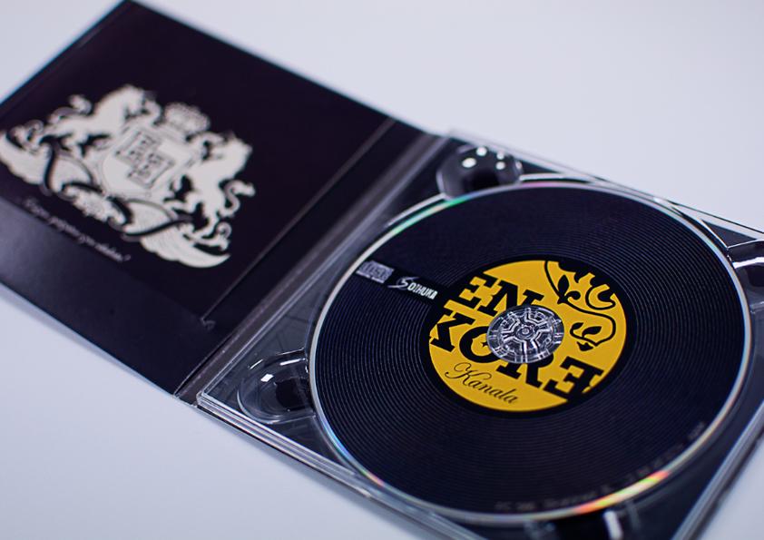 Maquetación CDs